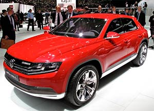 cross coupe tdi concept
