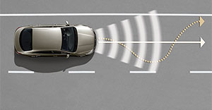 Volkswagen Lane Assist cardefence