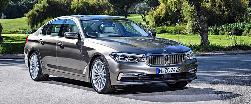 2018 new bmw 5 series