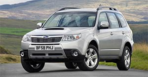 Фото Forester 2011
